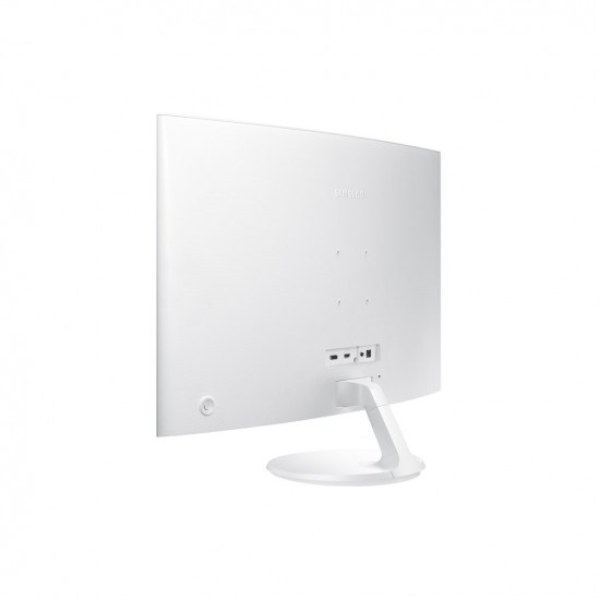 """Samsung 32"""" Curved Display Monitor - white"""